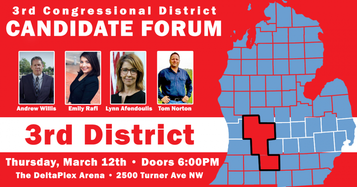 3rd Congressional District Candidate Forum at the Deltaplex